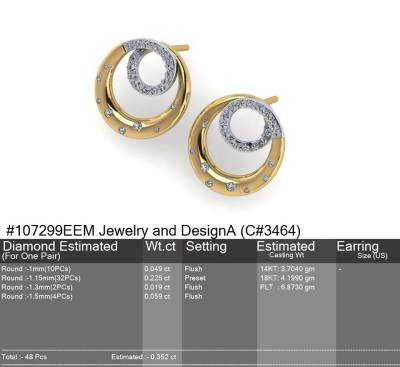 Auto Cad Earrings